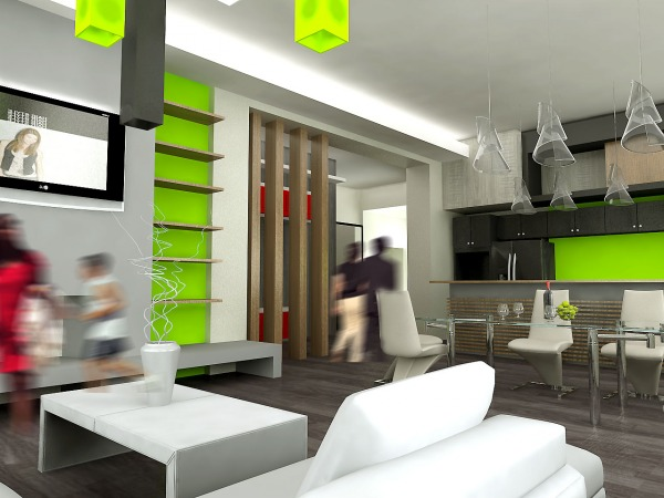 Image Condo interior design