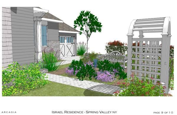 Image House Facade with Garden (1)