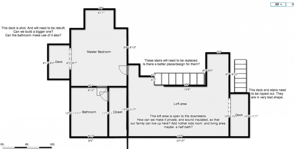 Image Floor plan: second floor