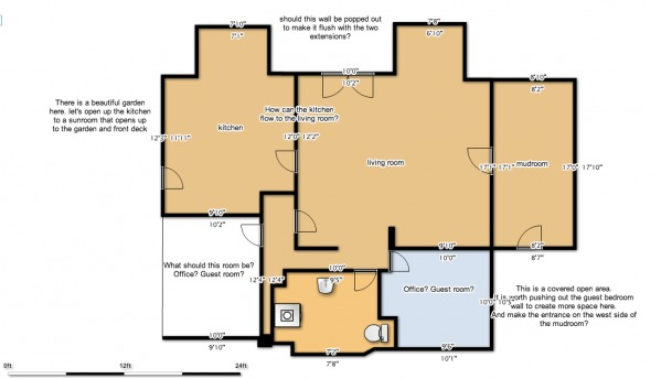 Image Floor plan: first floor