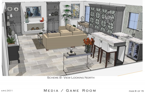 Image Game Room, Media Room ...