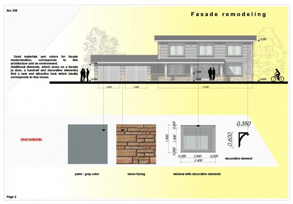 fasade drawing