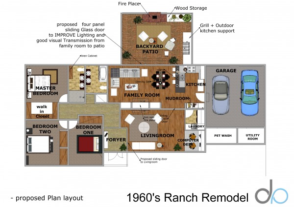 Image 1960's Ranch Remodel