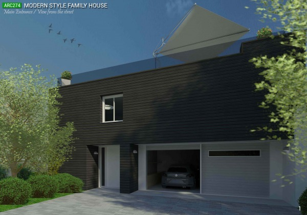 Image Modern style family house (1)
