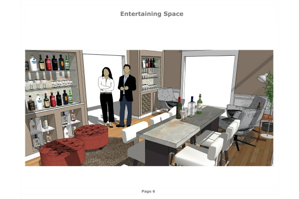 Image Entertaining Space