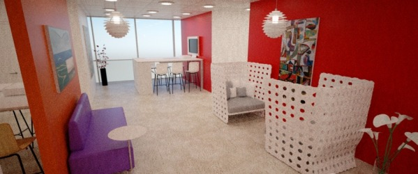 Meeting space/lounge a...