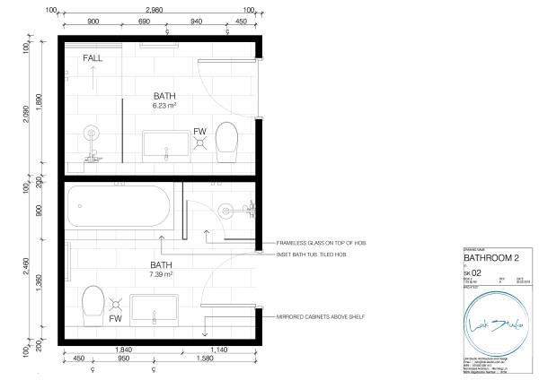 Image Bathroom 2 Plan
