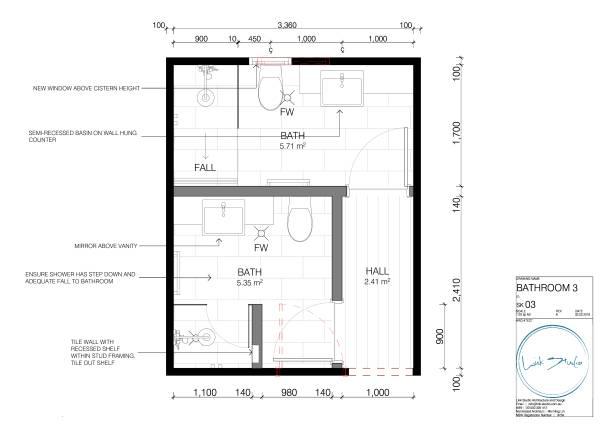 Image Bathroom 3 Plan