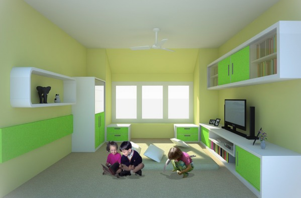 Image Toddler/Teen Game Room