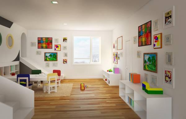 Kids Playroom with sim...