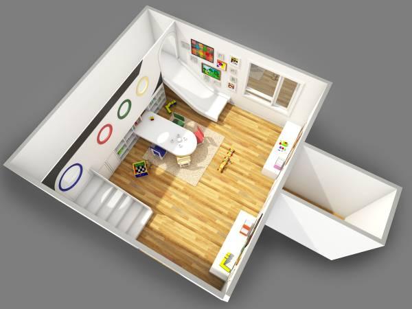 Image Fun Kids Play Room wit... (2)