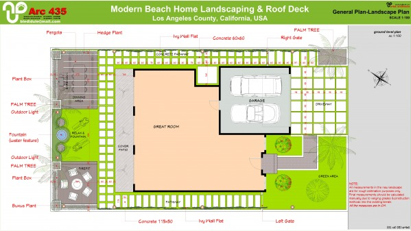 Image Modern Beach Home Land... (1)