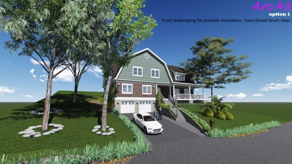 Image Front landscaping for ... (2)
