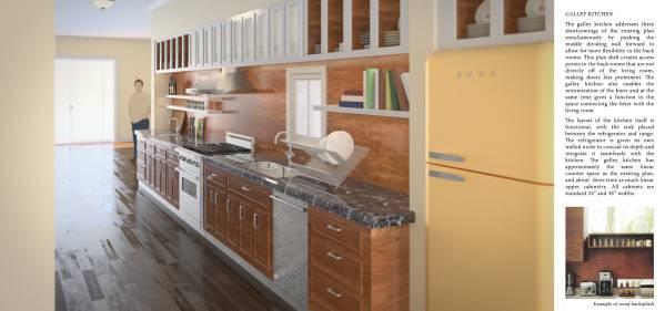 Image galley kitchen