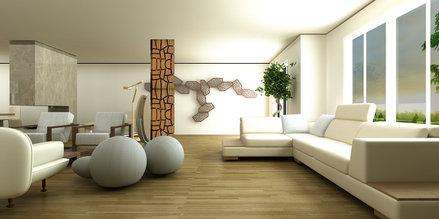 Living Room Design Project designed by Tülin Gazi - Contemporary ...