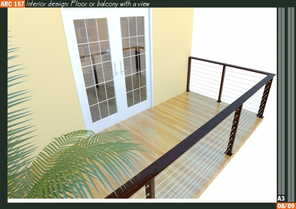 Image floor or balcony with ...