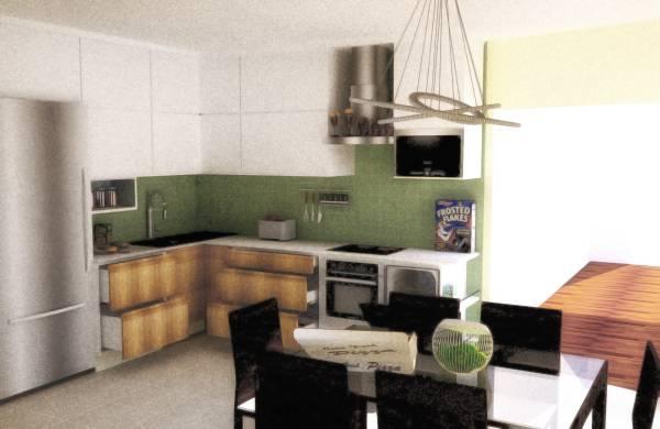 Image Kitchen Open Floorplan