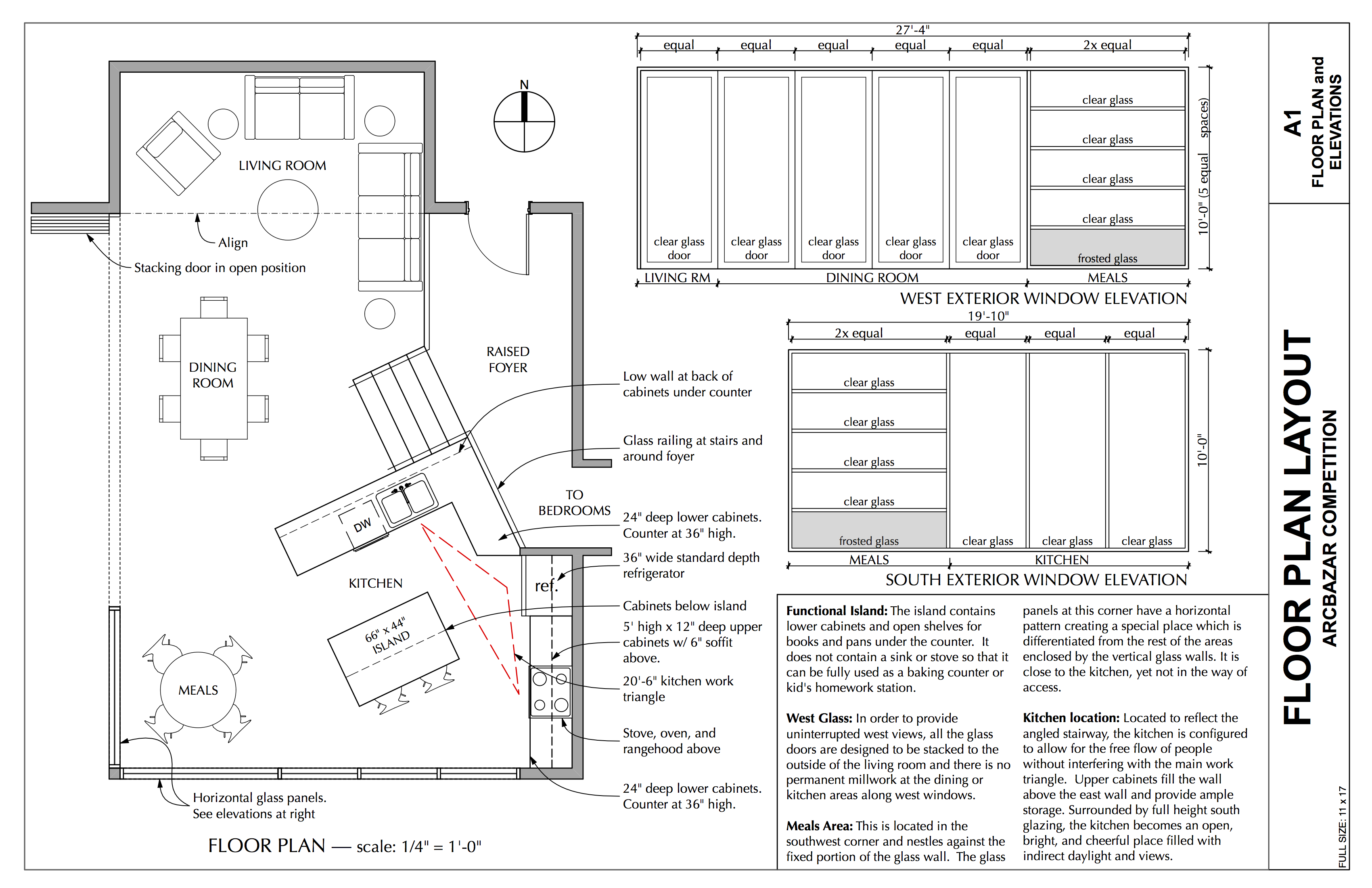 Pdf diy construction project floor plans download corner for Floor description