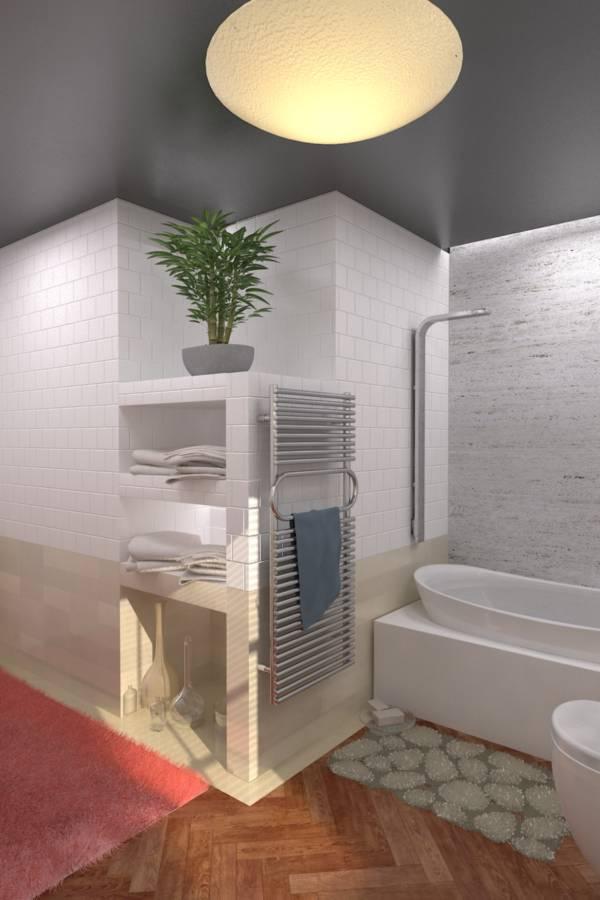 Image Powder Room & Main Bath