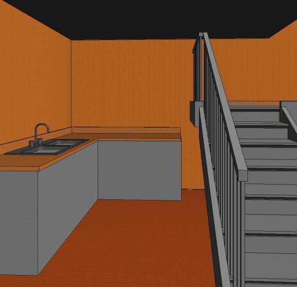Image First floor kitchenette
