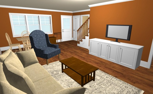 Image New living/family room...