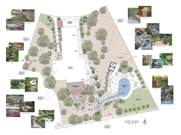Image Site Plan - Scale: 3/1...
