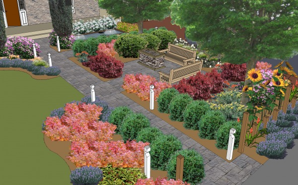 Image Front Yard Landscape P...