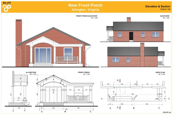 Image Front Porch - Elevatio...