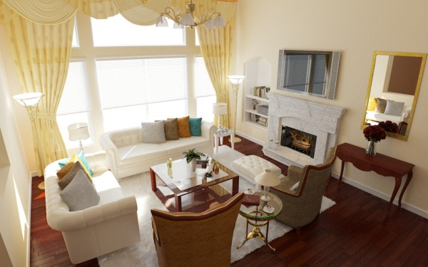 Image Family room design