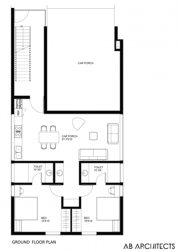Image Ground floor plan