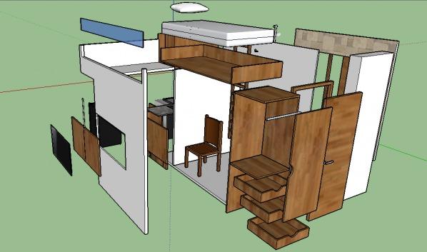 Image sketch-up model