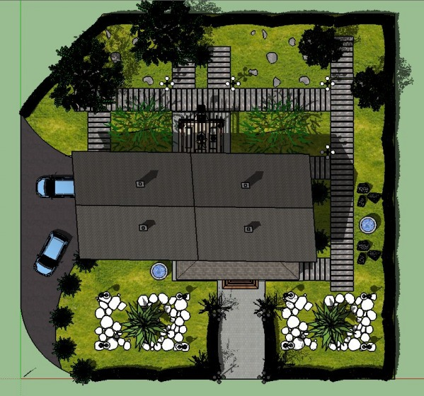Image top view plan