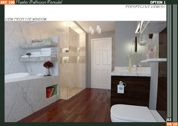 Qarch Team Master Bathroom Remodel Charlottesville Us Arcbazar