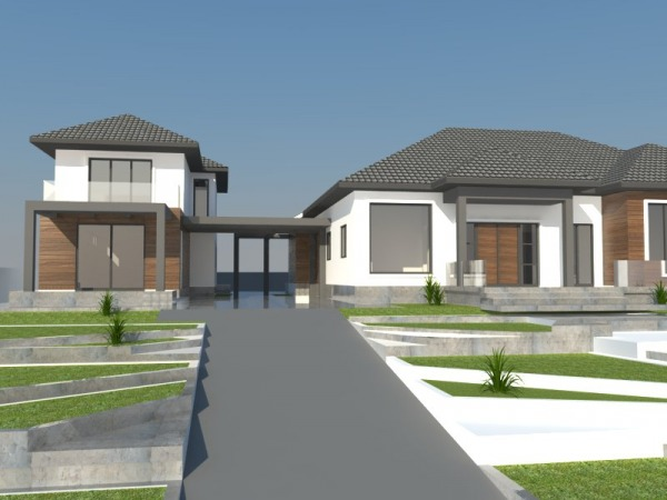 Image House design and lands... (1)