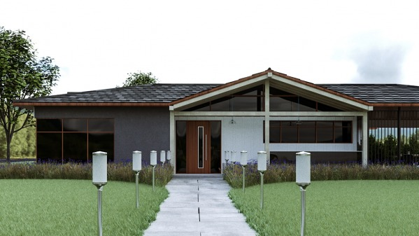 1950s Rambler/Ranch Facade Remodel for Curb Appeal