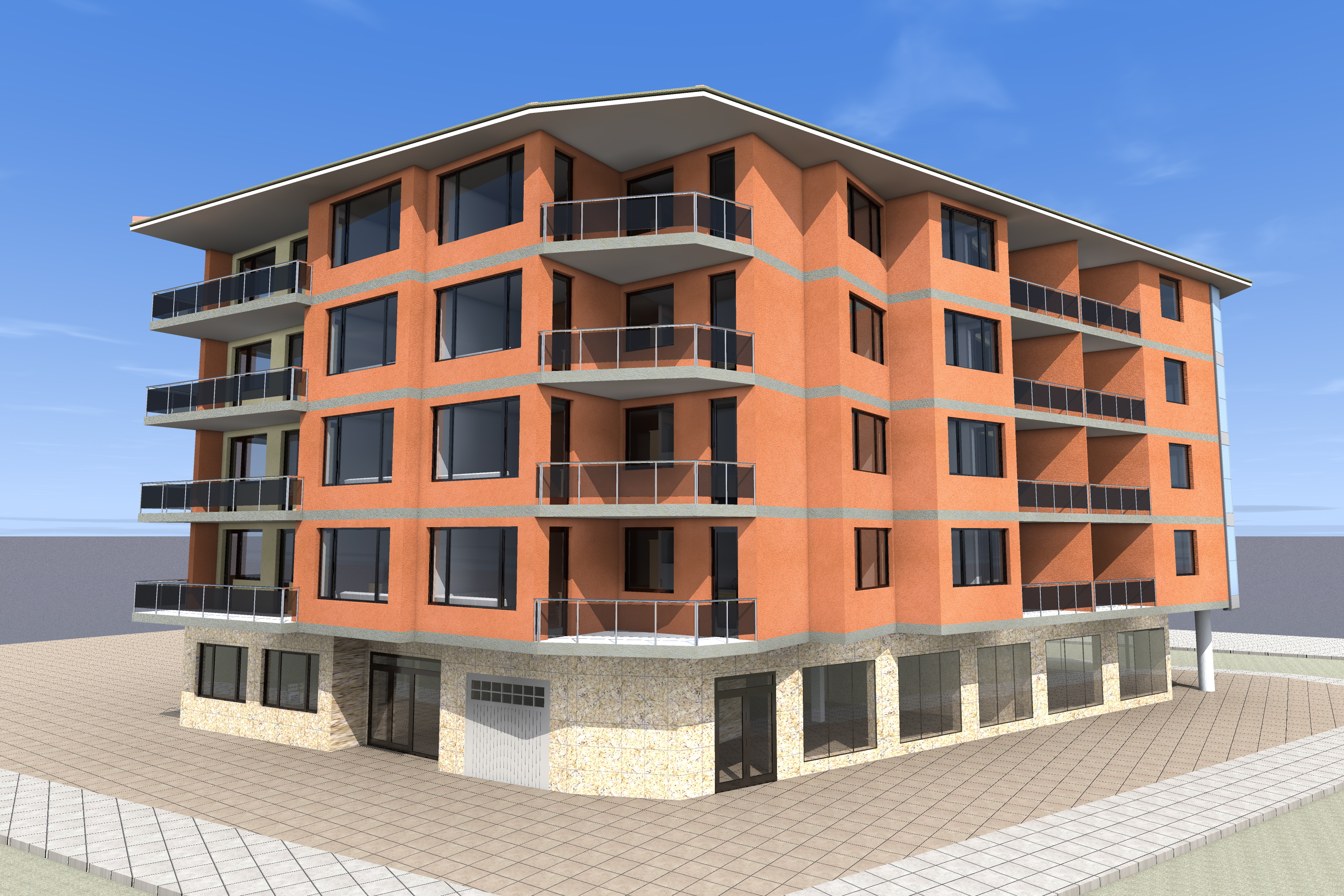 Apartment Building Design - Home Design
