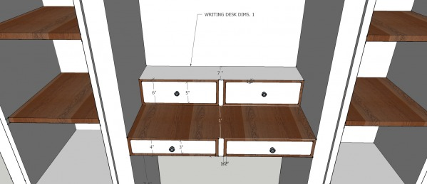 Image writing desk