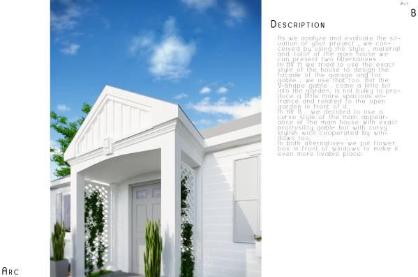 Image Garage Exterior Design...