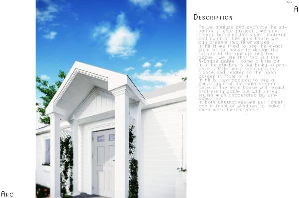 Image Garage Exterior Design... (2)