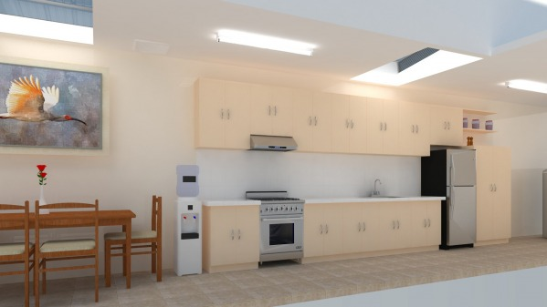 Image dirty kitchen remodelling