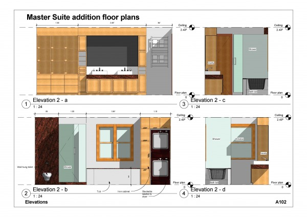 Other designed by dhha hienduong master suite addition for Master suite addition floor plans