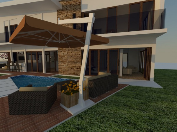 Image outdoor by master bedroom