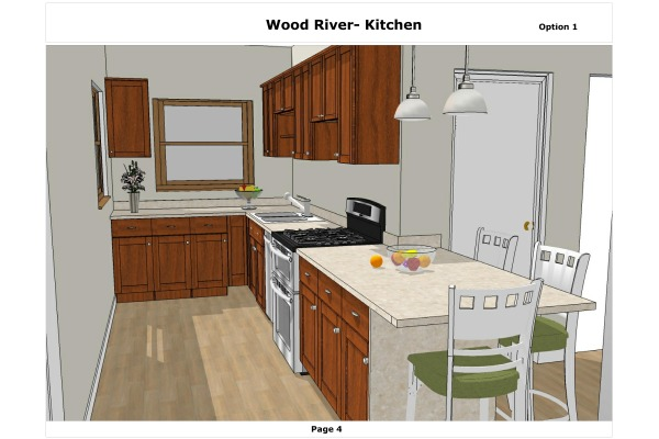 Kitchen design project designed by gordana potezica wood for Kitchen design normal