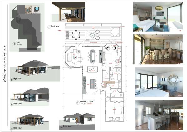 Image Small Lake Home Remode... (2)