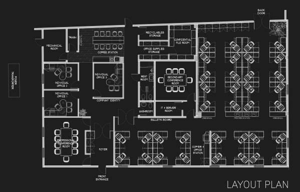Layout Plan - Black