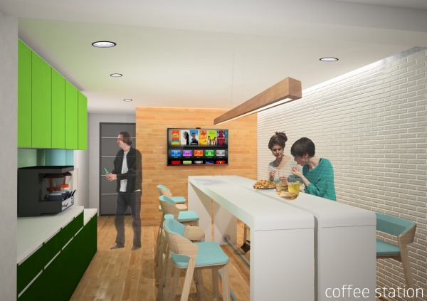 Image Coffee Station Interio...
