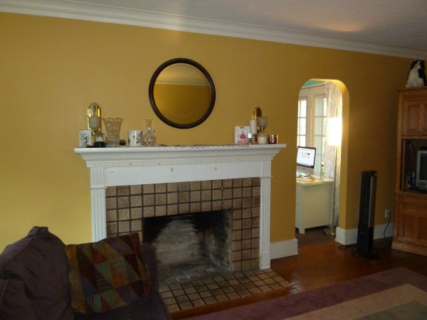 Image Fireplace and adjacent...