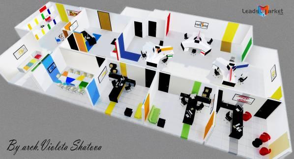 office buildings designedvioleta shatova - interior design for