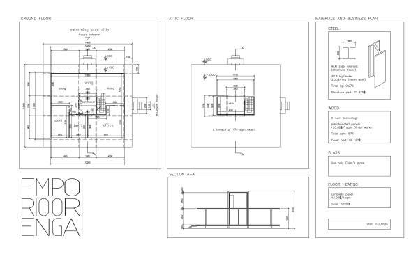 Image Plans, section, materi...