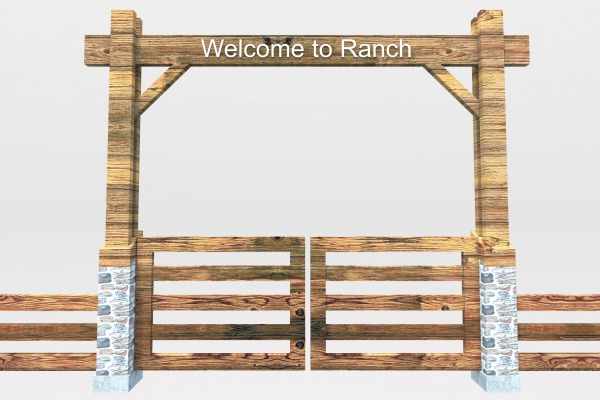 Image Ranch Entry Gate (2)